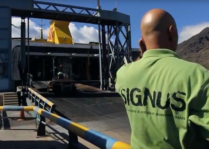 Reutilizacion de Neumaticos en Torgut ServeiAuto - SIGNUS